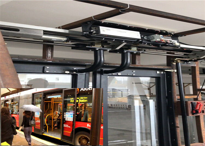 Sensitive Edge Sliding Plug Door Passenger Protection For Pure Electric Bus